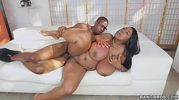 African maid being fucked by her boss after the wife leaves